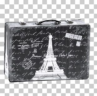 Eiffel Tower Seine Suitcase PNG