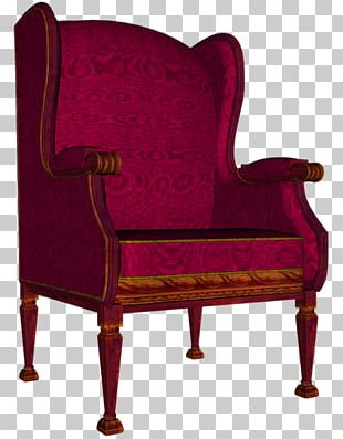 Wing Chair Furniture PNG