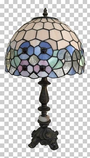 Tiffany Lamp Art Nouveau Glass Window PNG