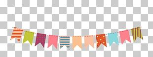 Paper Bunting Party PNG