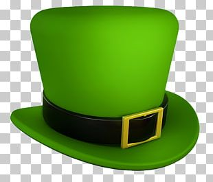 Saint Patricks Day Hat Green PNG