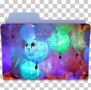 Balloon Computer Turquoise PNG