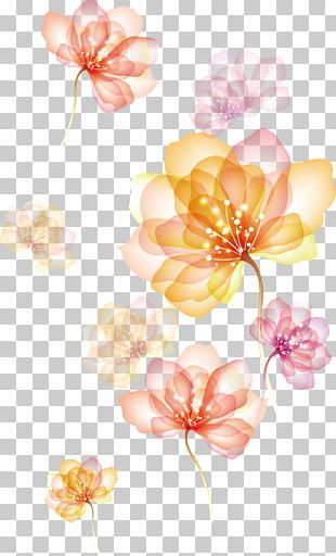 Effect Of Spreading Flowers PNG