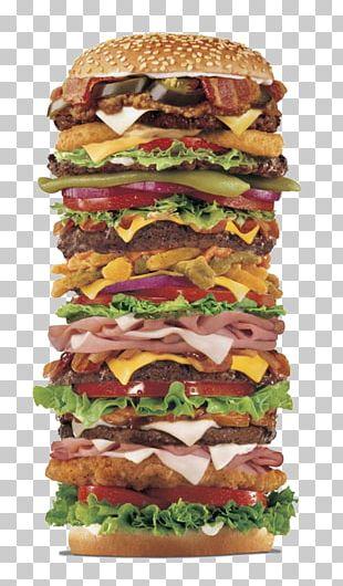 Hamburger Cheeseburger French Fries Pickled Cucumber Burger King PNG