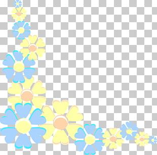 Borders And Frames Flower Pastel Desktop PNG