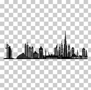 Dubai Wall Decal Sticker PNG