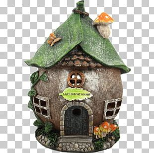 Fairy Tale House Garden Wish PNG
