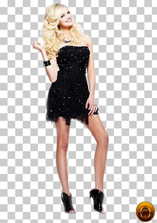 Little Black Dress Fashion Party Dress Clothing PNG