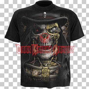 Long-sleeved T-shirt Steampunk PNG