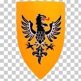 Middle Ages Heater Shield Knight Eagle PNG