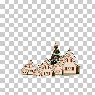 Christmas Eve Igloo Christmas Tree PNG