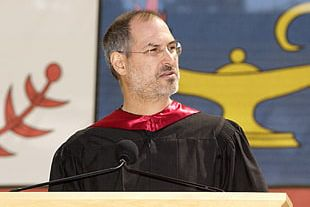 Steve Jobs Stay Hungry Stay Foolish Stanford University Stanford Cardinal Men's Basketball Commencement Speech PNG