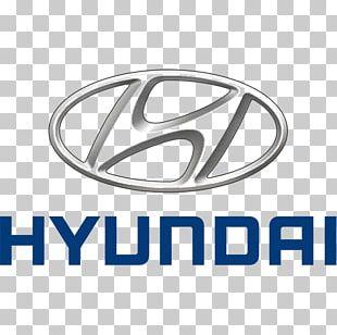 Hyundai Motor Company Car Hyundai Accent Logo PNG