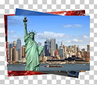 Statue Of Liberty Empire State Building Santa Monica Travel Vacation PNG