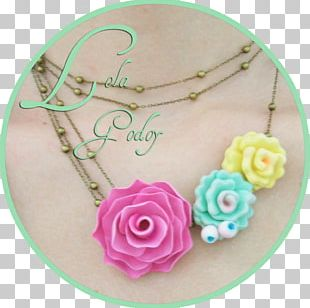Body Jewellery Turquoise Pink M PNG