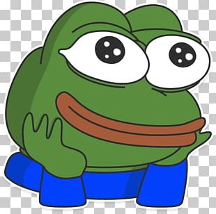 Pepe The Frog Telegram Sticker Decal PNG