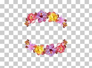 Wreath Flower Crown PNG