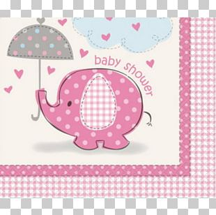 Cloth Napkins Table Baby Shower Party PNG
