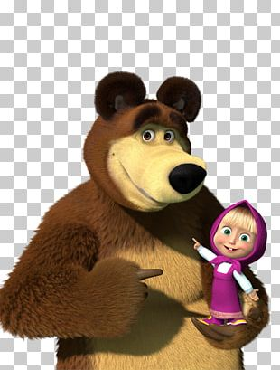 Masha And The Bear Cartoonito Desktop PNG