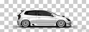 Bumper Honda Civic Type R Compact Car PNG