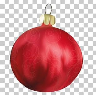 Christmas Ornament Christmas Tree Red PNG