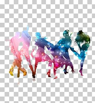 Dance Music Poster PNG