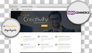 Web Template System WordPress Theme PNG