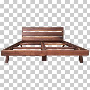 Bed Frame Mattress Hardwood Garden Furniture PNG