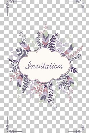 Wedding Invitation Save The Date Greeting Card PNG