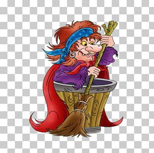 Baba Yaga Fairy Tale Witch Баба Яга PNG