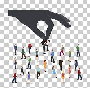 Person Recruitment Organization Management Business PNG