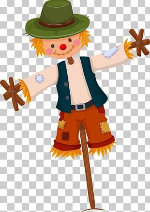 Scarecrow Illustration PNG