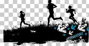 Running Silhouette Sport Illustration PNG