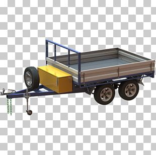 Trailer Plan Flatbed Truck Drawbar PNG