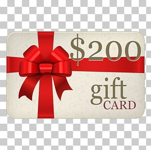 Gift Card Voucher Online Shopping Christmas PNG