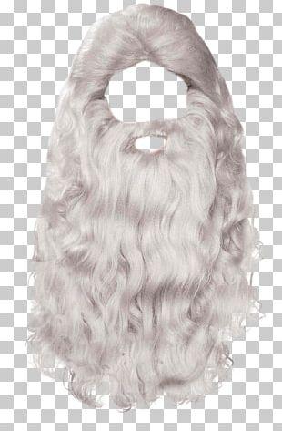 Santa Claus Mrs. Claus Beard PNG