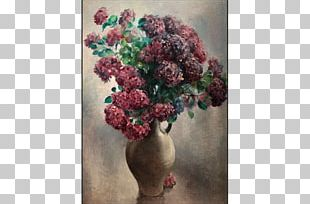 Floral Design Vase Art Houseplant Clay PNG