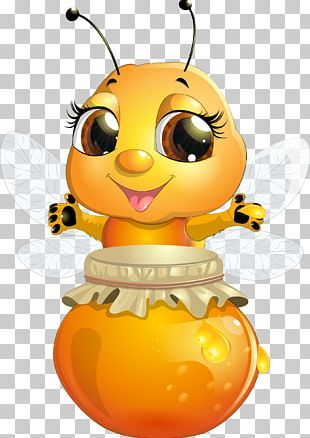 Bee Cartoon Insect PNG
