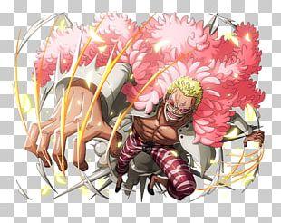 One Piece Treasure Cruise Monkey D. Luffy Roronoa Zoro Donquixote Doflamingo Dracule Mihawk PNG
