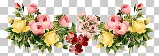 Flowers Vintage Group PNG