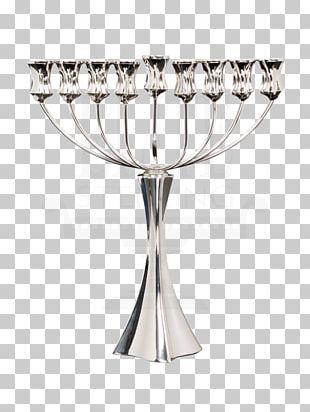 Menorah Hanukkah Jewish Holiday Judaism Chabad PNG