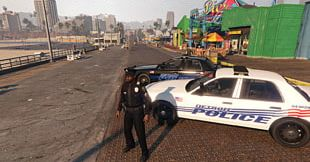 Grand Theft Auto V Car Detroit Police Department Wayne County PNG