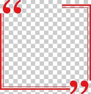 Red Rectangle Border PNG