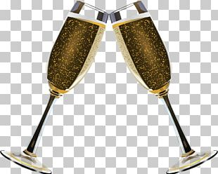 Champagne Duo Of Glasses PNG
