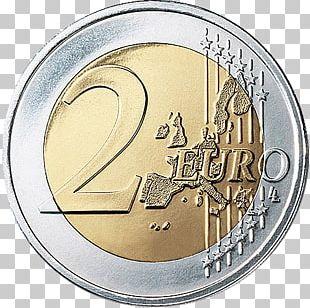 2 Euro Coin 2 Euro Commemorative Coins Euro Coins PNG