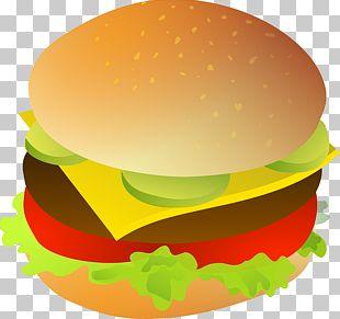 Hamburger Cheeseburger Fast Food Chicken Sandwich PNG