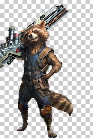 Rocket Raccoon Thor Groot Iron Man Hulk PNG