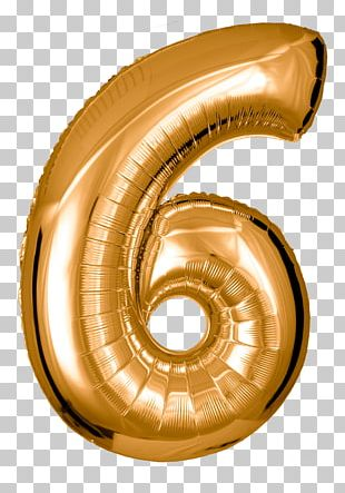 Toy Balloon Gold Green Red Number PNG