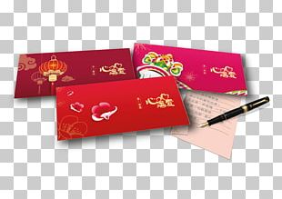 Chinese New Year Red Envelope Reunion Dinner Love Letter PNG