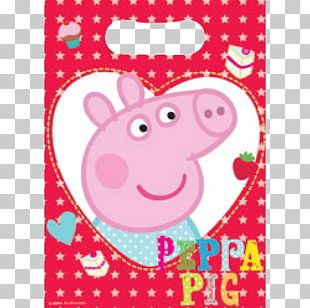 Birthday Party Favor Gift Pig PNG